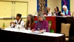 California Foremothers of Women's Spirituality gathered at a historic 2012 San Francisco conference of the Association for the Study of Women and Mythology.
